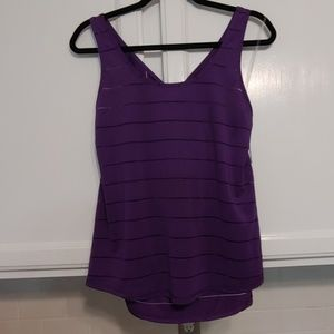 Champion purple sleeveless sports top